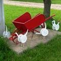 essay on the red wheelbarrow